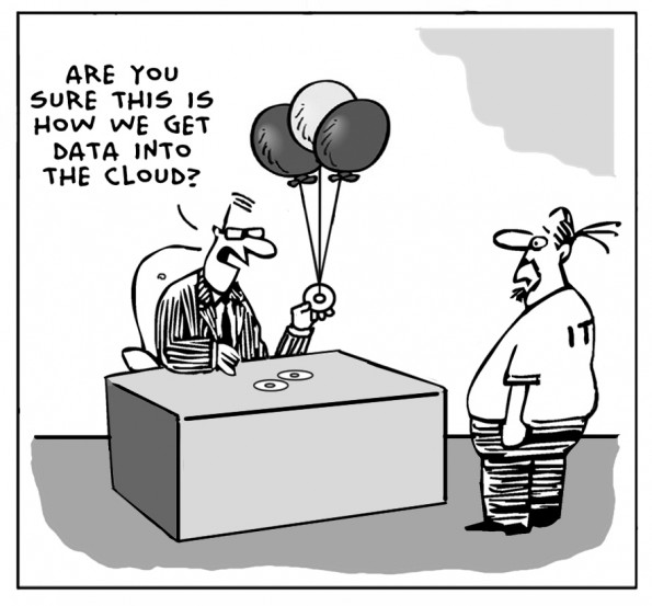 Cloud joke
