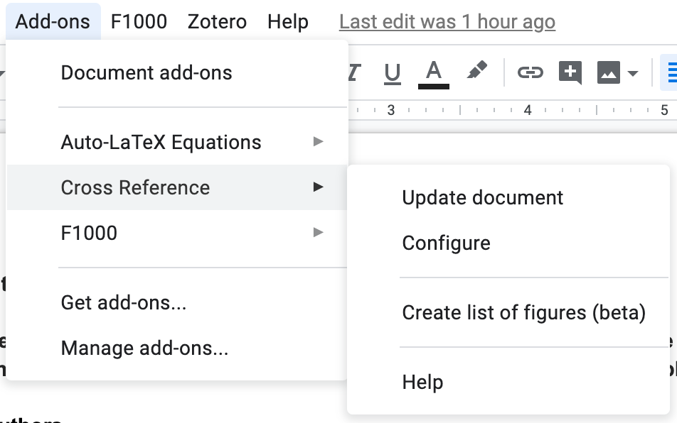How to write academic documents with GoogleDocs | L  Collado